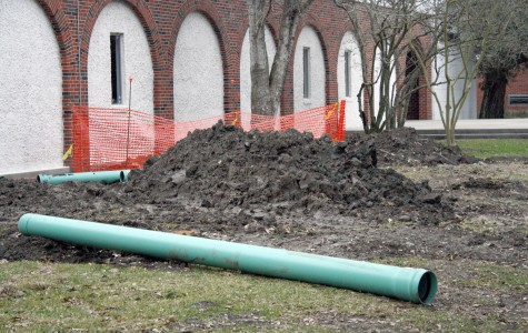 Out-of-date sewer lines replaced around campus