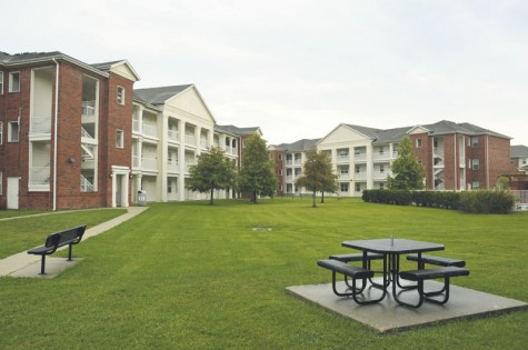 Students complaining about conditions of on-campus housing