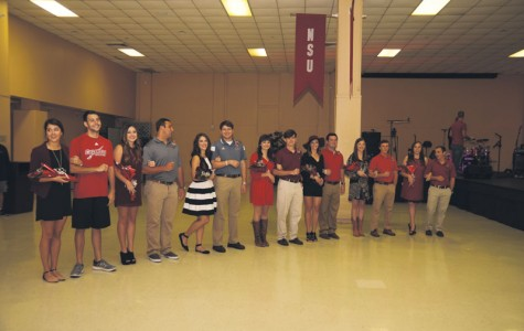 2014 court prepares for Homecoming activities