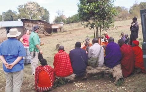 Nicholls student Hilton Johns make fourth mission trip to Kenya