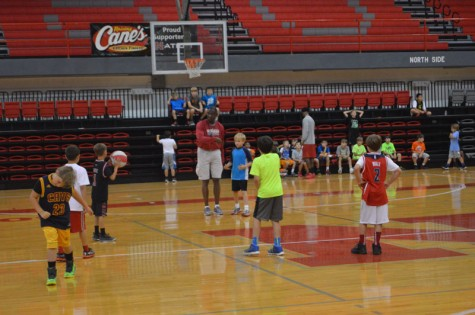 Nicholls men's basketball hosts annual summer camp
