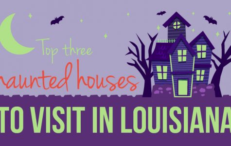 Top three haunted houses to visit in Louisiana