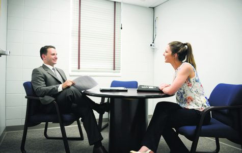 Career Services promotes on-campus mock interviews