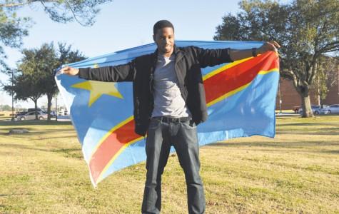 Nicholls's first Congolese student enjoying Louisiana lifestyle