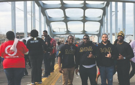 Fraternity attends 50th Anniversary of Selma March