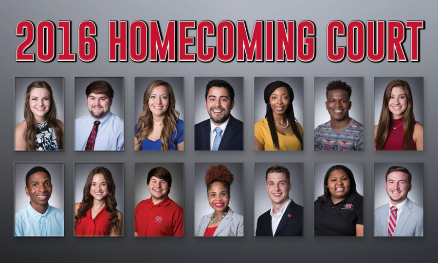Getting to know the students on the 2016 homecoming court at Nicholls