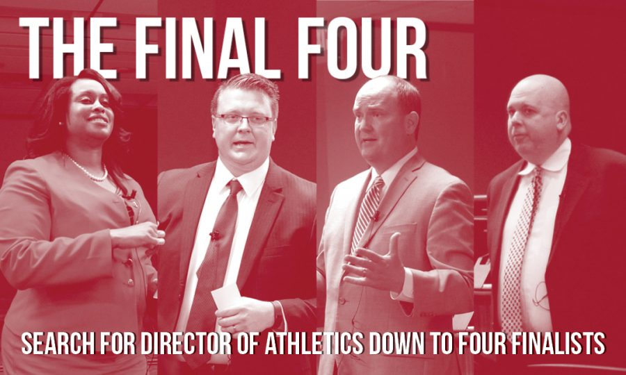 The final four: Search for Director of Athletics down to four finalists