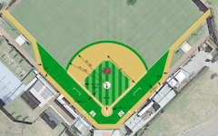 Ray E. Didier Field remains under construction
