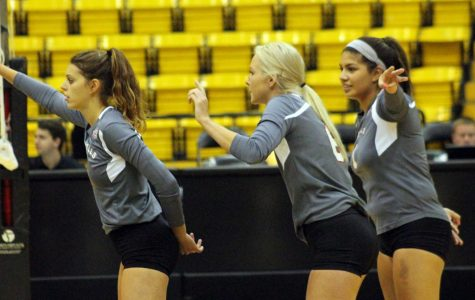 Volleyball earns first victory of season