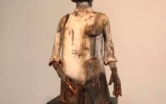 Stacey Johnson's ceramic figure collection featured in the Ameen Art Gallery