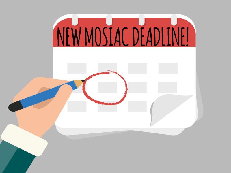 Mosaic+deadline