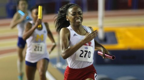 Women's track makes big strides at indoor championships