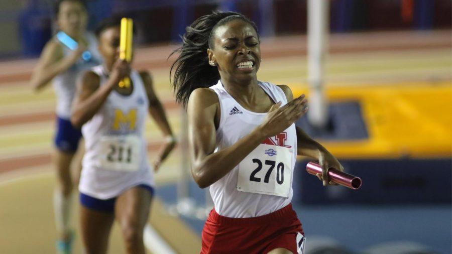 Womens track makes big strides at indoor championships