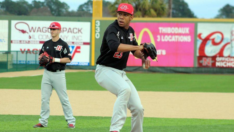 Nicholls baseball nears end of regular season