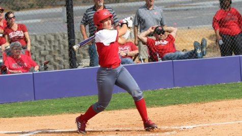 Softball sweeps Lumberjacks in Southland series