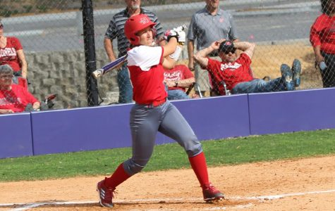 Softball sweeps Lumberjacks in Southland series