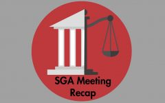 SGA discusses changes to e-portfolio application and installment of parking signs
