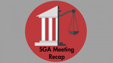 SGA discussed faculty salary and campus improvements