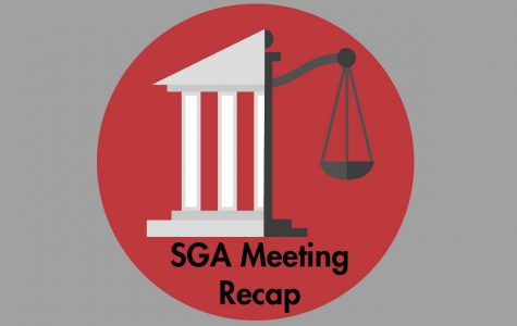SGA held its first meeting of the 2020 spring semester