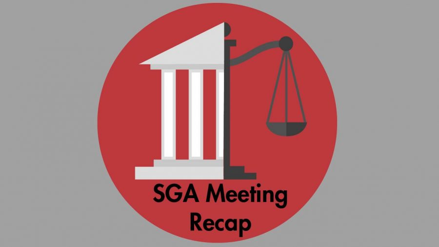 SGA+discussed+campus+plans+for+the+fall+semester