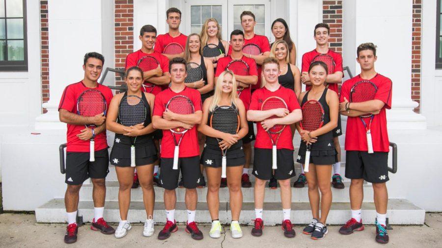 Tennis Team Group 2017(Misty Leigh McElroy/Nicholls State University)10/11/17