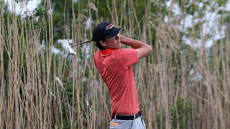 Nicholls golf finished regular season