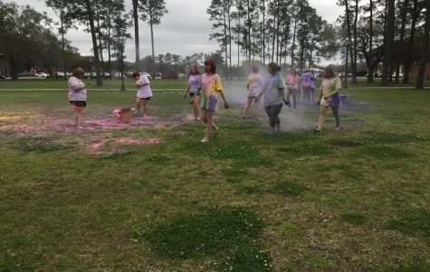 SPA's festival of colors celebrates Holi
