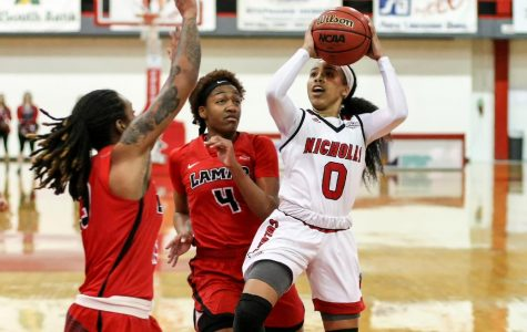 Women's basketball earned victory in Southland Conference
