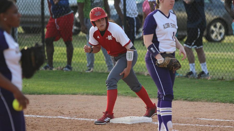Nicholls+softball+stands+in+first+place+in+conference
