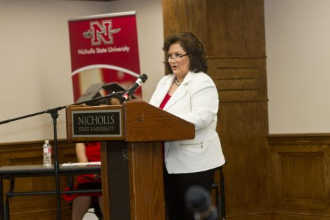 University holds public interview for provost and vice president for academic affairs finalist