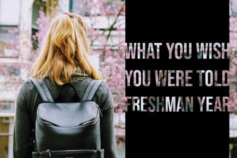 Upperclassmen give advice to freshmen
