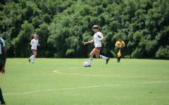 Nicholls women's soccer team discuss advantages of homestand and on the road games