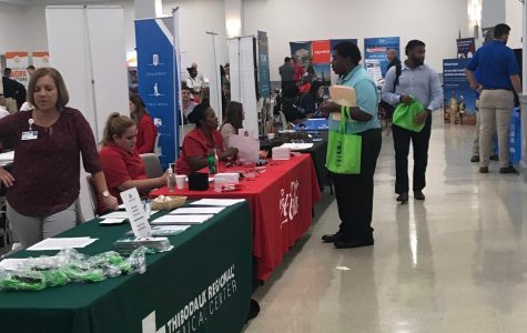 Nicholls hosts dozens of employers on Career Day