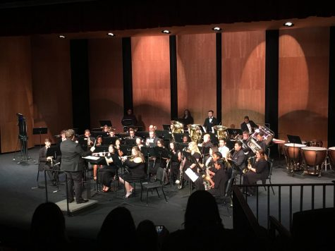 Fall Wind Ensemble captivates different cultures using music