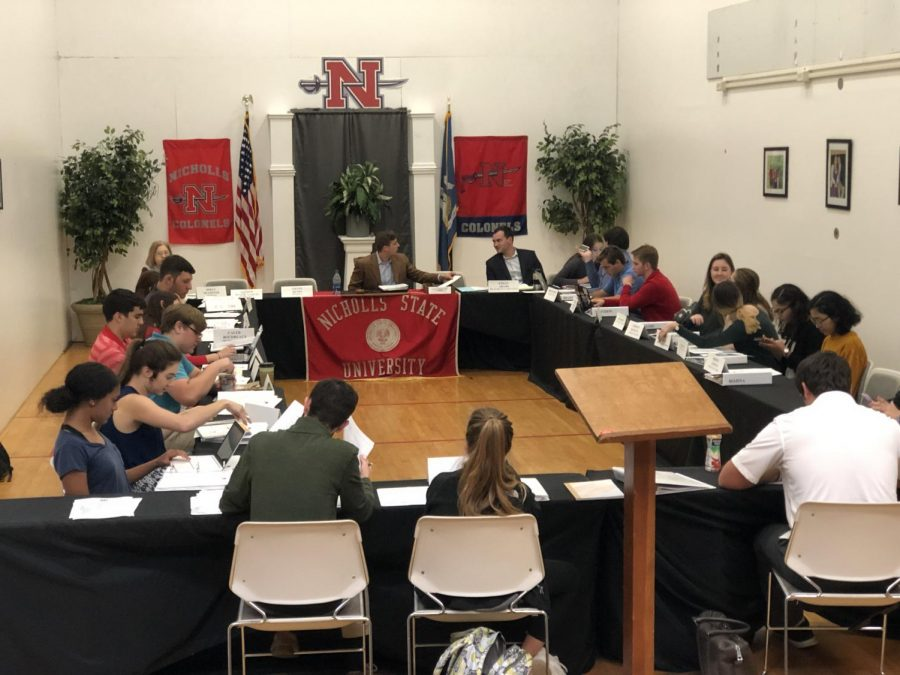 the nicholls worth | SGA discusses Homecoming events and