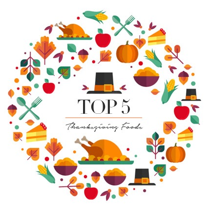 Top 5: Thanksgiving Foods