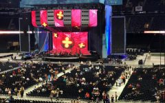 Ed Sheeran took over the Superdome on Halloween night