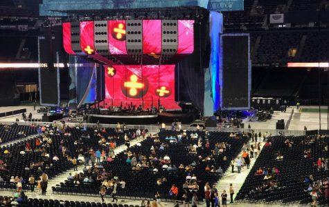 Ed Sheeran took over the Superdome on Halloween night