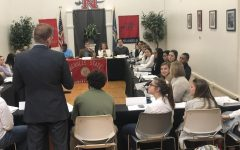SGA hosts last meeting of the 2018 fall semester