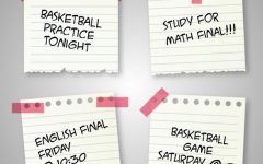 Men's basketball continue practices through finals week