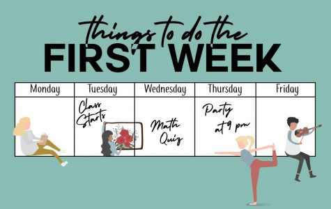 Five fun things to do during the first week of school