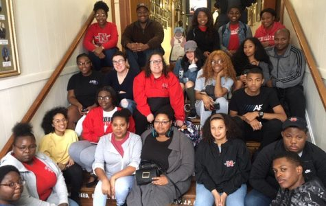Students attend SGA-sponsored trip to Finding Our Roots African American Museum