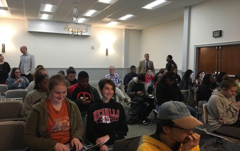 Mass communication department provide closing event for Black History Month