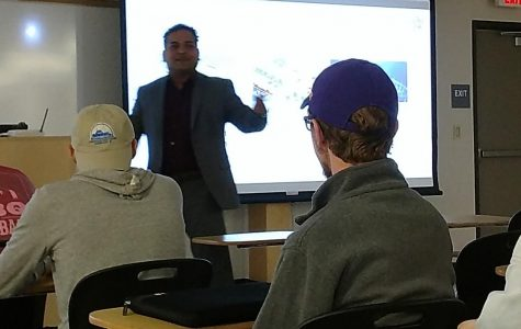 Co-founder of Advano speaks to Nicholls chemistry department