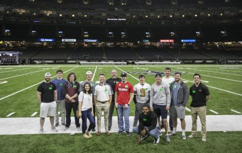 Students in marketing class attend field trips for hands-on experience