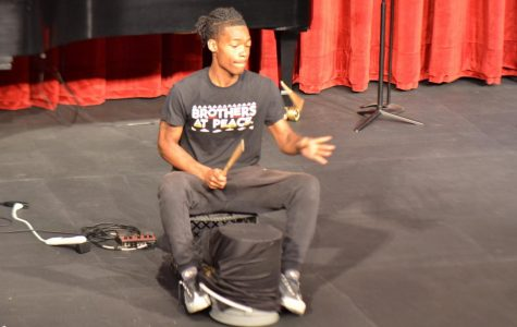 Relate Open Mic night centered around student challenges
