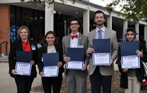 Nicholls biology students awarded by the Louisiana Academy of Sciences