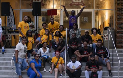 Black Student Union hosts welcome back block party