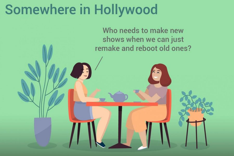 Popularity of movie reboots