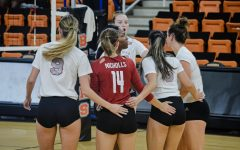 Nicholls State University volleyball team won three games